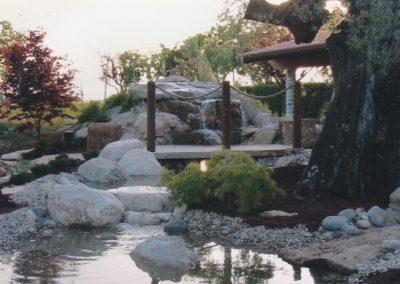 Creazione fontane in pietra naturale